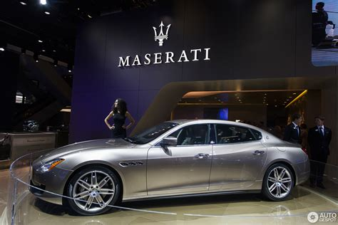 Iaa 2018 Maserati Quattroporte Ermenegildo Zegna Limited