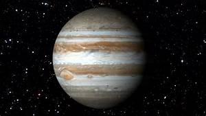 Design Maker Jupiter Rotating The Jupiter Spinning Stock Footage