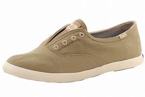 Keds Womenu0026#39;s WF52508 Chillax Slip-On Fashion Taupe Washed Twill Sneakers Shoes   eBay