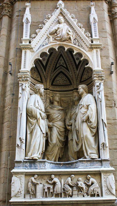 Nanni Di Banco Orsanmichele Four Crowned Saints By Nanni Di Banco