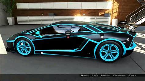 Forza 5 Tron Lamborghini Aventador