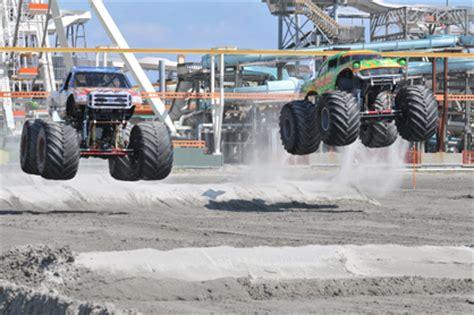 wildwood monster truck show wildwood nj monster truck beach bash the boardwalk blog