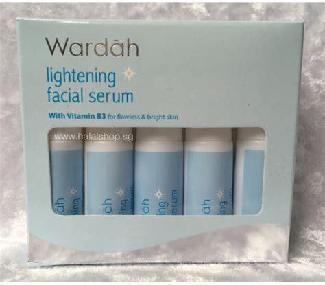 halal cosmetics singapore wardah lightening serum