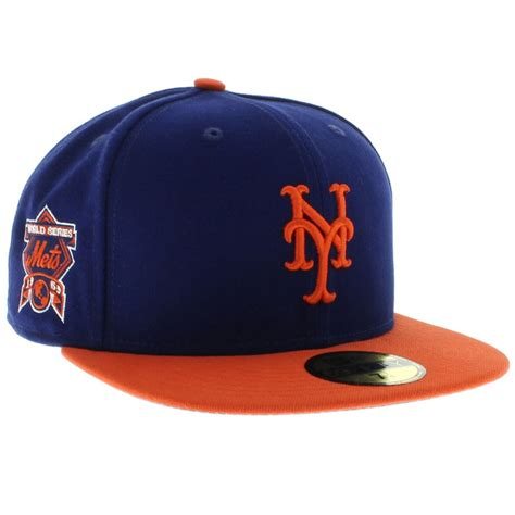 new york mets colors new york mets team colors the side patch 59fifty new era cap