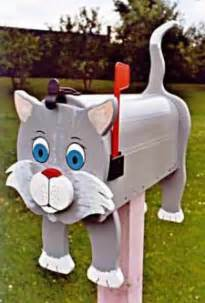 decorative cat mailboxes modern mailboxes