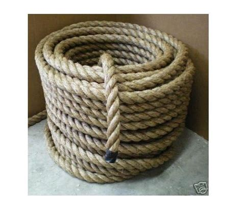 Boat Rope by 1 1 2 Quot Nautical Manila Rope Cut To Length Boat Dock