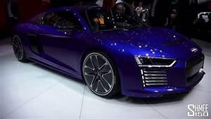 First Look  Audi R8 E-tron - Geneva 2015