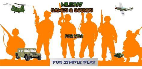 amazoncom fun soldier army games  kids