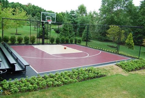backyard sports ideas backyard basketball court ideas to help your family become chs bored art
