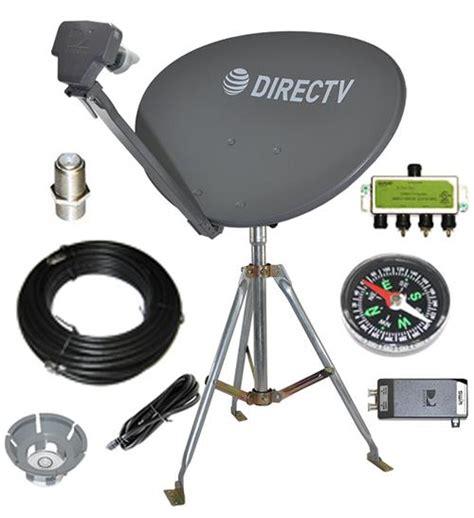 directv swm sls portable satellite rv kit  camping