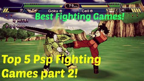 Top 5 Best Psp Fighting Games! Part 2!