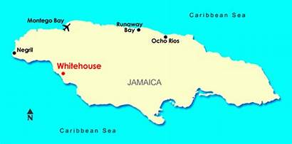 Jamaica Whitehouse Resort Map Sandals Location Beach