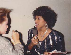 Sonya interviewing Vanessa Williams 1987 001 | Sonya's ...