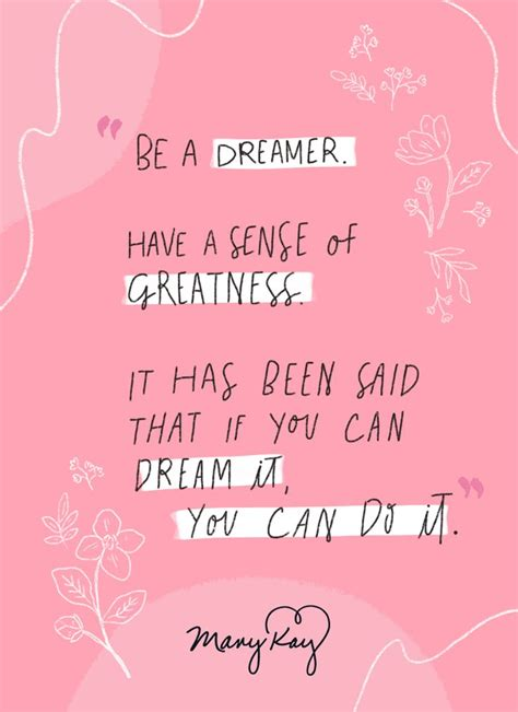 inspiration  powerful mary kay ash quote