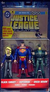 Black Canary, Superman Green Arrow 3-Pack Justice League ...