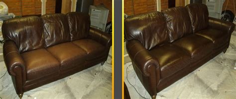 Repair In Leather Sofa by Cracked Leather Repair