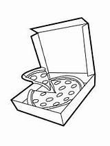 Pizza Pizzadoos Kleurplaat Pepperoni Leukekleurplaten Coloring Colouring Kleurplaten Colour Kolorowanka Funghi 1001coloring Coloringpage Ladnekolorowanki Kleur Slice Pizzę Pudełko sketch template
