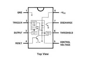 555 timer pinout and frequency determination compit blog With generic functional diagram showing all input output connector pinouts
