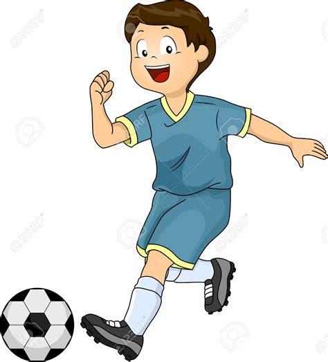 Kick Clipart Boy Shooting A Soccer Clipart Clipground