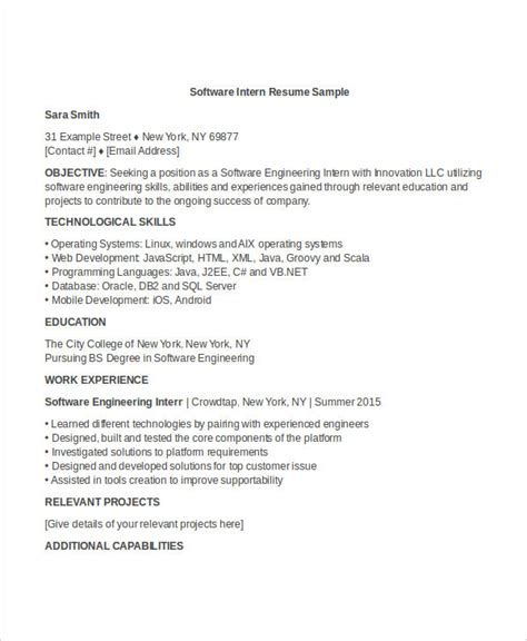 engineering resume template   word documents