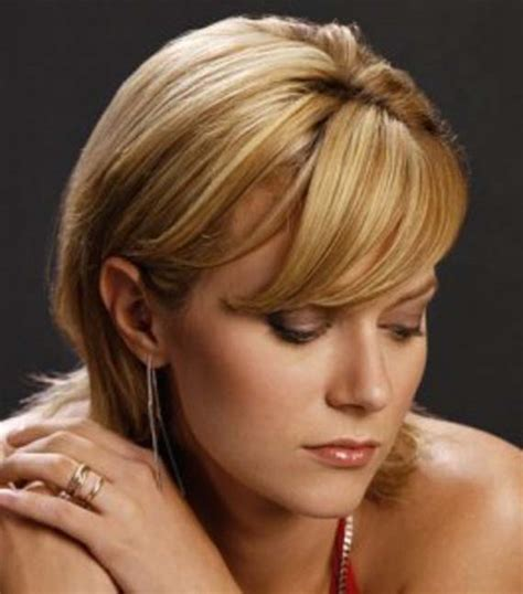 short hairstyles   faces  thick hair fashion
