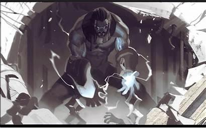 Sylas Artstation League Legends Fullmetal Alchemist Scar