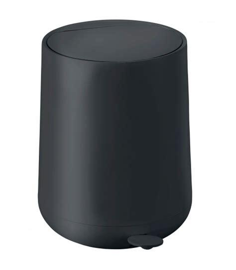 poubelle de salle de bain en inox brillant carr 233 1 5l