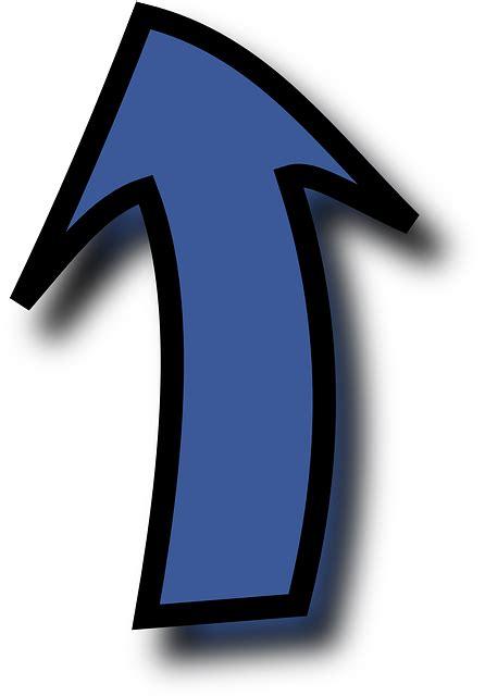 pfeil blau bis kostenlose vektorgrafik auf pixabay