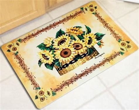 sunflower kitchen mat 1000 ideas about sunflower kitchen decor on 2611