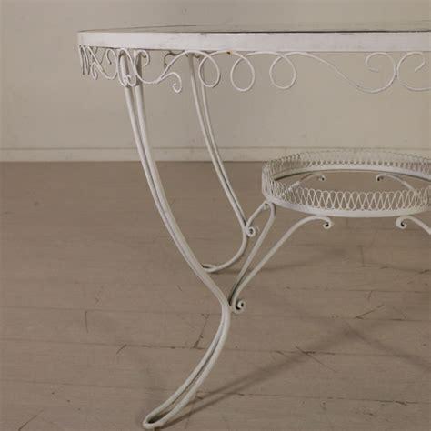 tavolo ferro battuto tavolo in ferro battuto tavoli modernariato
