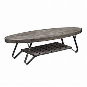 modern driftwood rustic gray wood and metal 56 inch oval With rustic grey wood coffee table