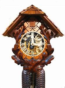Plexiglas, Dial, 8, Day, Cuckoo, Clock