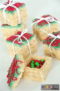 Rice Krispies Treats Presents with a Surprise | Kid table ...