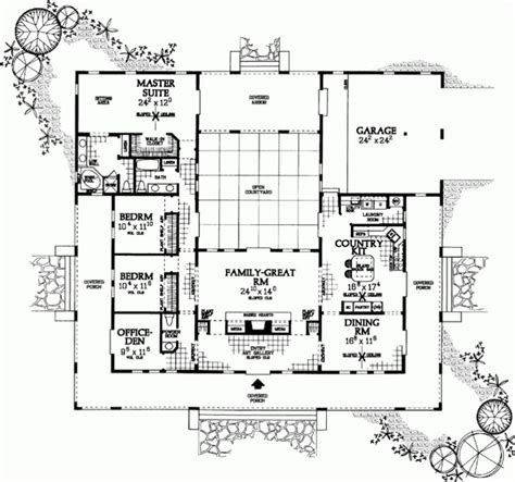 awesome  shaped home plans  ranch style house plans square foot home pict