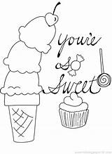 Ice Cream Drawing Coloring Candy Bar Cotton Getdrawings sketch template