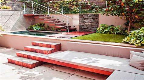 Outdoor Patio Ideas With Fireplace, Sunken Fire Pit With