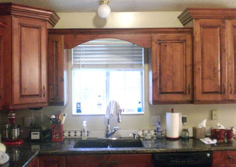 Kitchen Valance by Wood Valance Kitchen Sink For The House