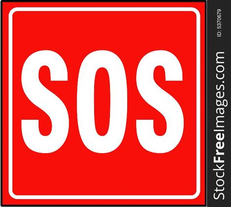 Sos Sign - Free Stock Images & Photos - 5370679 ...