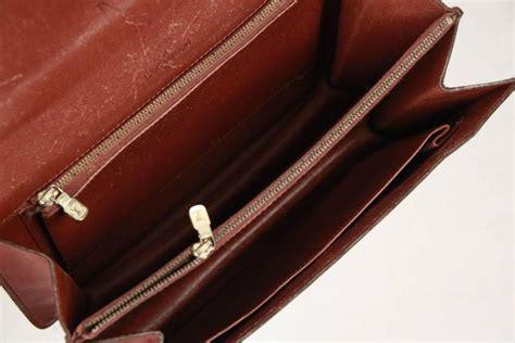 louis vuitton vintage brown monogram canvas concorde handbag  sale  stdibs