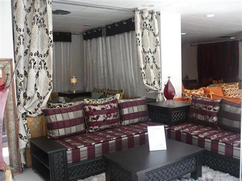 canape demontable mobilier marocain les salons modernes déco salon marocain