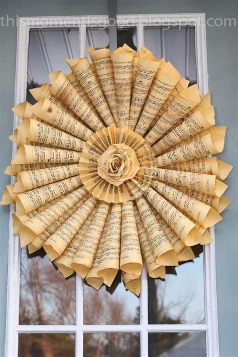 paper wreath loom knitting   moment  good