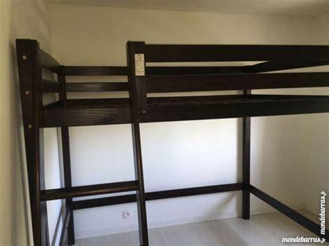 lit mezzanine 2 places avec canapé mezzanine julien fly bois wenge clasf