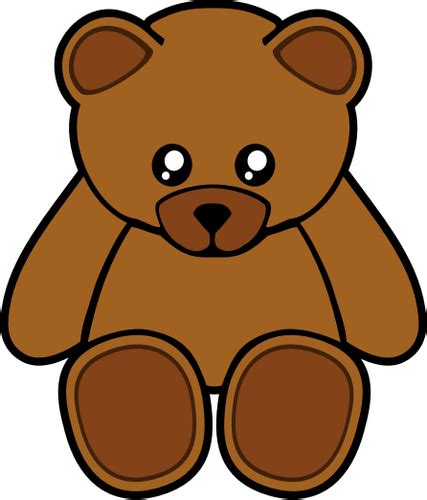 Teddy Clipart Brown Clipart Tedy