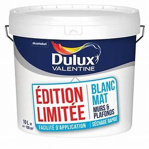 peinture edition limitee dulux valentine murs et plafonds With peinture murs et plafonds