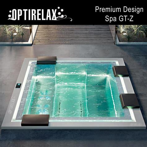 einbau whirlpool outdoor luxus design spa whirlpool gt z optirelax 174