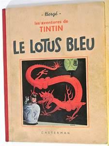 Le Lotus Bleu Levallois : tintin 5 le lotus bleu z w hc 1939 ~ Gottalentnigeria.com Avis de Voitures