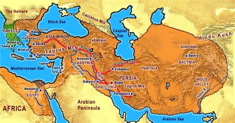 Ancient Persian Imperial History
