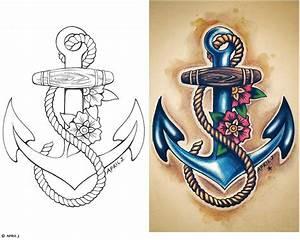 Traditional Old School Tattoos | Gypsy, Anchor, Ship, Pin ...