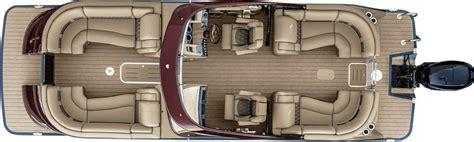 Bennington Pontoon Boats Floor Plans by 2017 Qx25 Fastback Fiberglass Pontoon Boats By Bennington