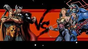 Hyperion & Thor vs Wonder Woman & Darkseid - Battles ...